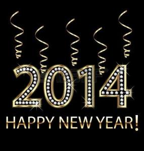 24500737-happy-new-year-2014-in-gold-with-ribbons-vector-design